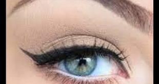 مكياج عيون فرنسي , ارق مكياج للعيون