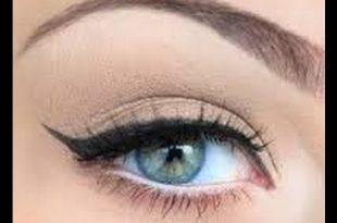 صورة مكياج عيون فرنسي , ارق مكياج للعيون