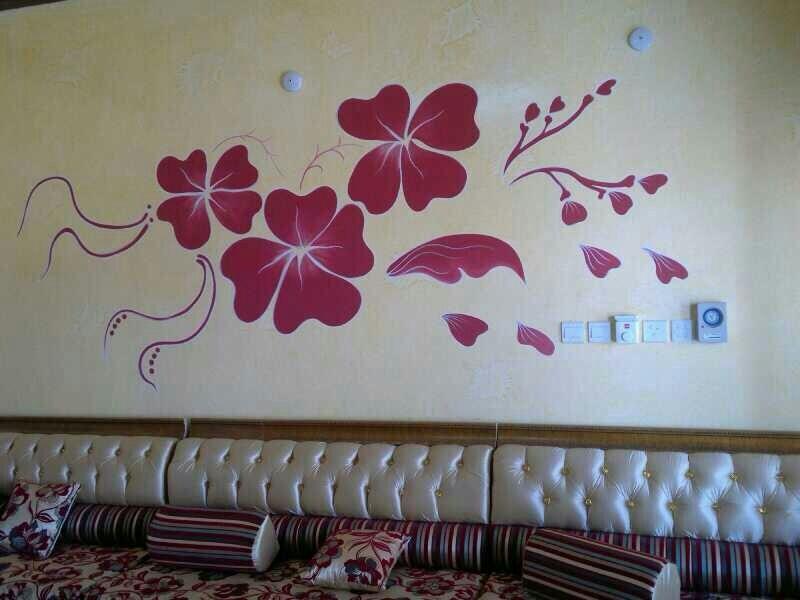 صورة نقوشات على الجدران , ارقى الديكورات للحوائط