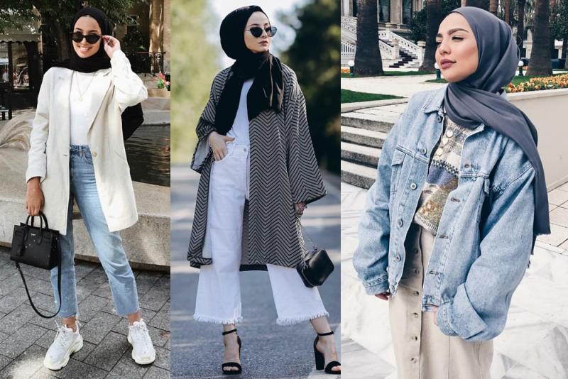 صورة ملابس الموضة للمحجبات , اكتشفى موديلات للحجاب هذا العام