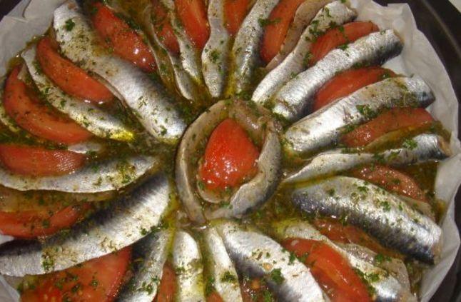 صورة طريقة عمل سمك السردين , صنية سردين بالفرن تاكلي صوابعك ورراها