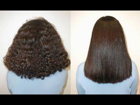 صورة طريقة تنعيم الشعر الخشن , وصفات للشعر المجعد