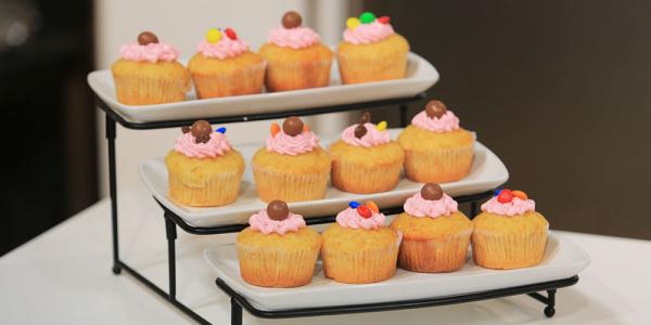صورة طريقة الكب كيك , اسهل حلويات ممكن تعمليها لاطفالك