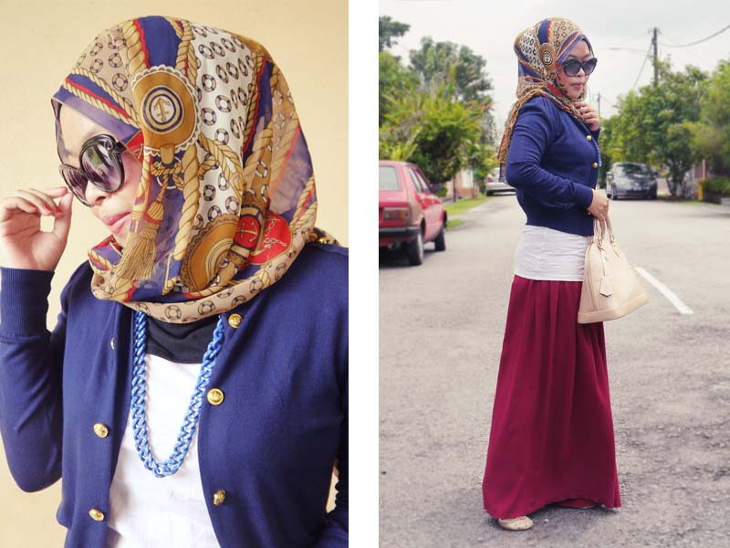 صورة اجمل ملابس محجبات , اشيك لبس شيك للحجاب