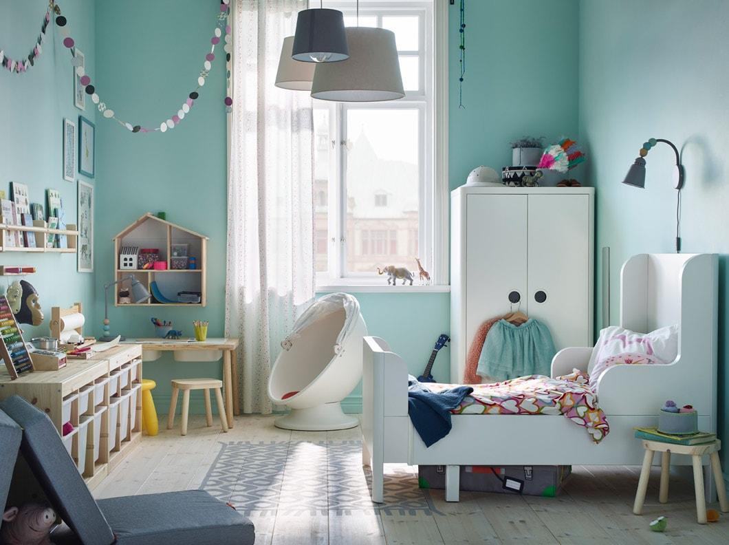 صورة غرف نوم اطفال ايكيا , اجمل غرف نوم للاطفال 1743 1