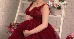 موديلات فساتين سهره للحوامل , فساتين تصلح للارتداء خلال الحمل