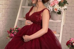 صور موديلات فساتين سهره للحوامل , فساتين تصلح للارتداء خلال الحمل