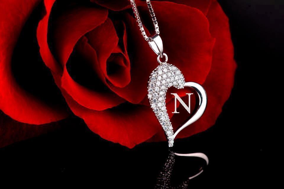 حرف N احبك حرف من اجمل الحروف الانجليزيه دموع جذابة