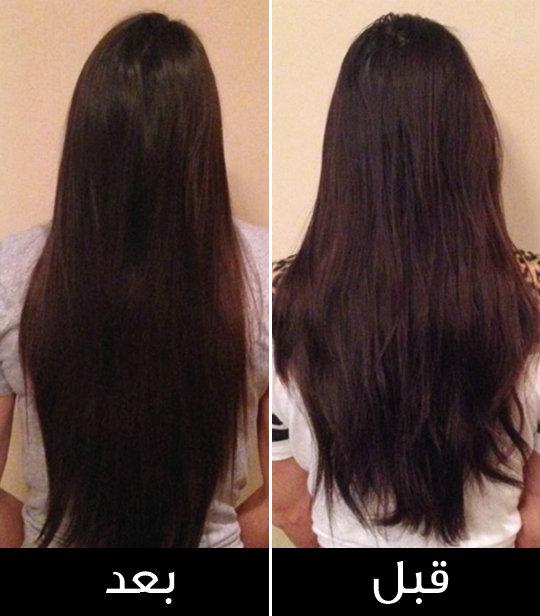 صورة طرق تكثيف وتطويل الشعر , كيف تحصلى على شعر جذاب جدا