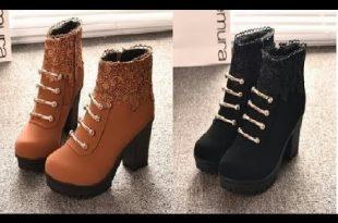 صورة احذية بنات شتوية , اشيك الاحذيه الشتويه هذا العام