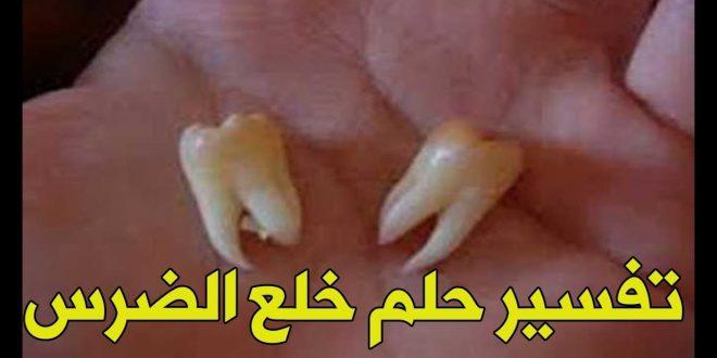 صورة خلع الضرس في الحلم , تفسير حلم سقوط الاسنان