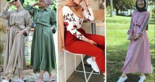 صور محجبات صيف 2019 , لبس كاجوال لبنات الجامعه