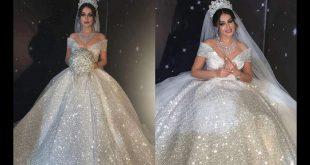 افخم فساتين زفاف , لو فرحك قرب شوفي الفستان ده مبهرر