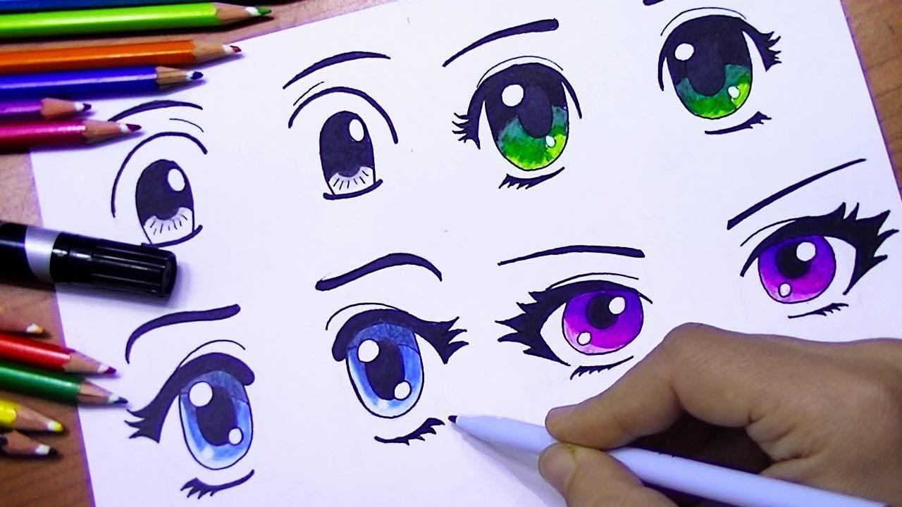 تعليم رسم عيون انمي للمبتدئين لم يسبق له مثيل الصور Tier3 Xyz