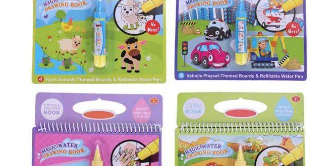 صورة دفتر تلوين للاطفال , دفتر لابداع الطفل و نموه