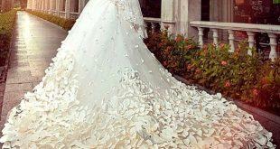 اجمل فستان عروس في العالم , فستان عرس لا مثيل له
