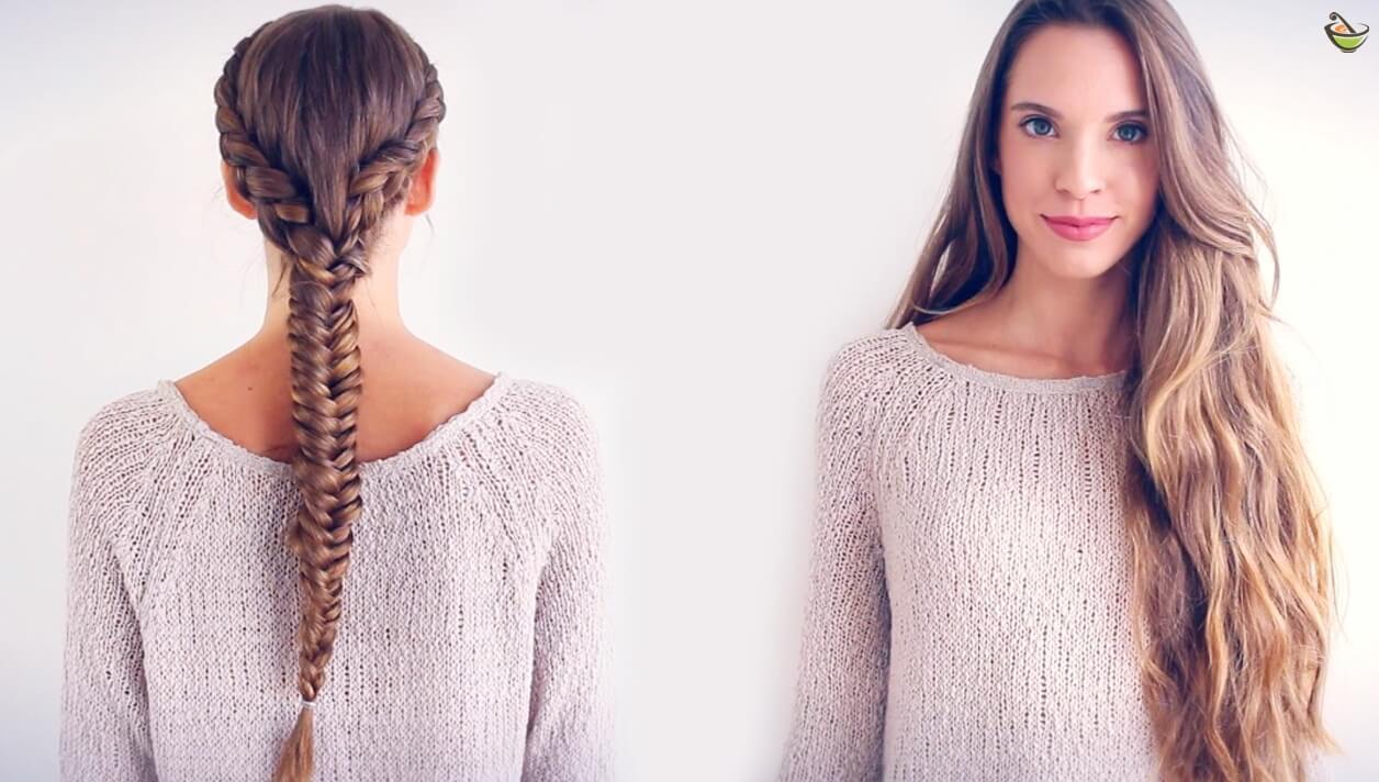 صورة تنعيم وتطويل الشعر , تنعيم الشعر بطرق مجربة
