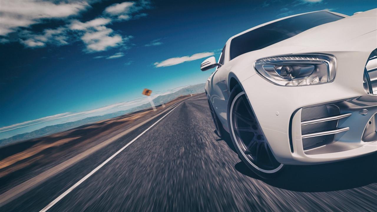 صورة رؤية السيارة البيضاء , احلي رؤية تشوفها في حياتك