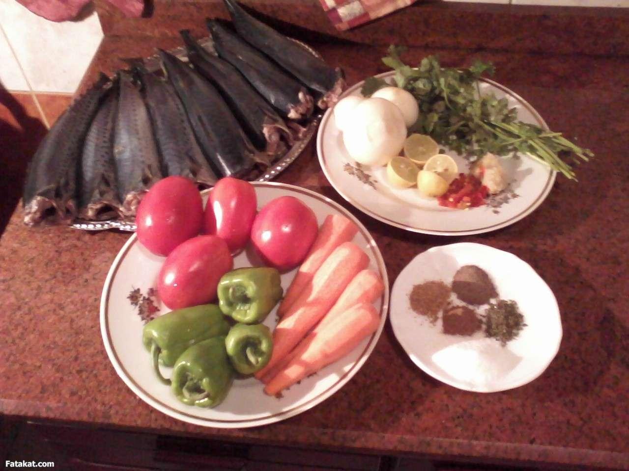 صورة طريقة عمل السمك الماكريل فى الفرن , احلي اكلة سمك هتاكل صباعك وراها