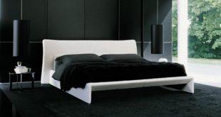 صورة غرف نوم سوداء , غرف نوم علي الطراز الحديث باحلي بلون مميز