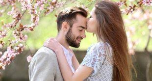 صورة احلى بوسة حب , من معاني الحب الجميلة