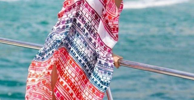 صورة مايوهات على البحر , احدث صيحات موضة لبس البحر