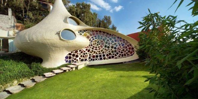 صورة اغرب بيت في العالم , تصاميم لبيوت مختلفة