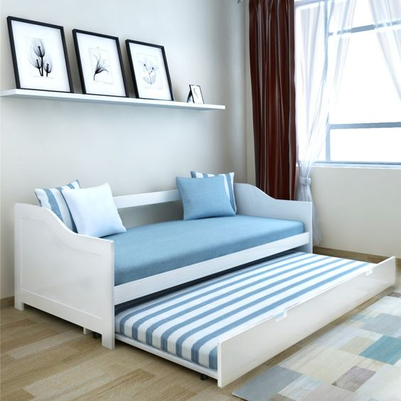 صورة اشكال كنب سرير خشب , اجمل قطعة اثاث موفرة في الشقة كلها