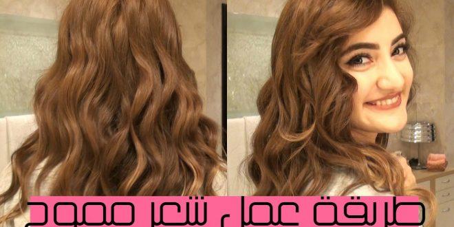 صورة طريقة لف الشعر بالبنس , جمال الانثى تاتي من تسريحات شعرها