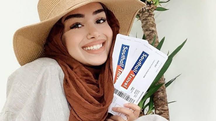 صورة قبعات للمحجبات صيفية , تجملي بالقبعه و تحلي بجمالك 6107 2