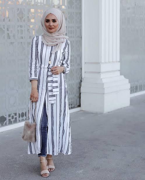 صورة ملابس صيفي للمحجبات , كيف تكون اجمل في الصيف