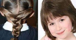 صورة لتنعيم شعر الاطفال , محتارة في هيشان الشعر عندى الحل