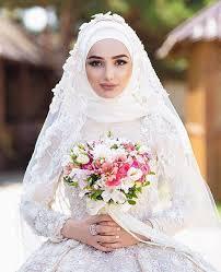 صورة لفات طرح عرايس للوجه الطويل , اجمل لفات طرح للعرايس ذو وجه طويل