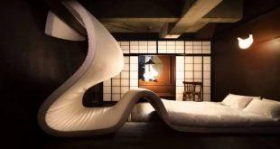 غرف نوم غريبة , لاجمل التصميمات الرائعة لغرف النوم