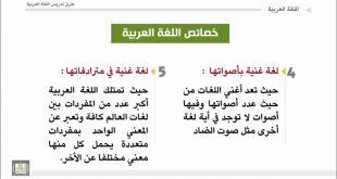خصائص اللغة العربية ، اهم ما يميز اللغة العربية عن غيرها من اللغات